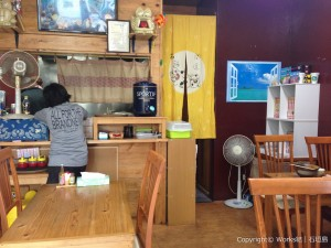 石垣島の定食屋大家・店内の様子