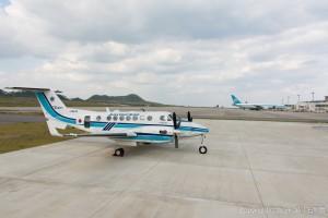 新石垣空港の撮影スポット