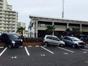 石垣島台風15号被害